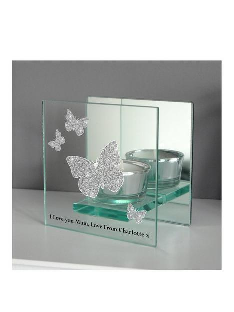 the-personalised-memento-company-personalised-butterfly-tealight-holder