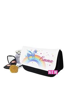 personalised-love-unicorns-cosmetic-bag