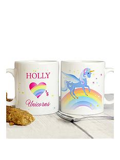 personalised-love-unicorns-mug