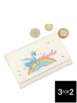 personalised-love-unicorns-purse