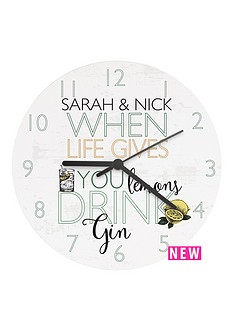 personalised-039when-life-gives-you-lemon039shellip039-wooden-clock