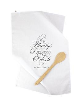 personalised-always-prosecco-oclockhellip-tea-towel