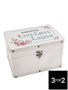 personalised-live-love-laugh-leatherette-keepsake-box