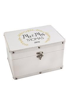 personalised-mr-amp-mrs-leatherette-keepsake-box