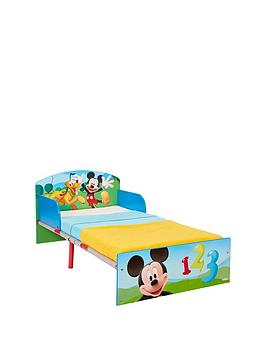 Mickey Mouse Toddler Bed By HelloHome