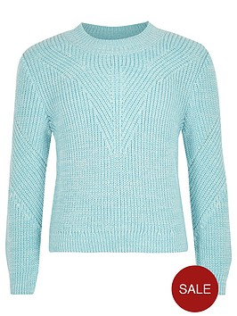 river-island-girls-turquoise-knit-zip-jumper