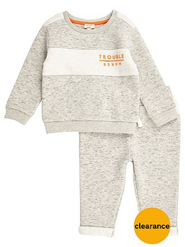 river-island-mini-boys-troublemaker-sweat-top-and-joggers-set