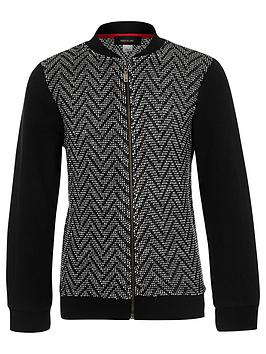 river-island-boys-black-zigzag-knit-bomber-jacket