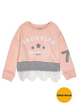 river-island-mini-girls-pink-lace-trim-sweatshirt