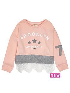 river-island-mini-mini-girls-pink-lace-sweatshirt