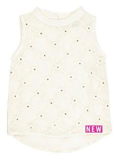 river-island-mini-mini-girls-cream-cotton-blouse