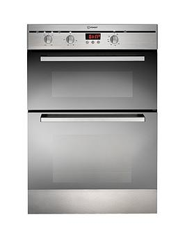 indesit-fimd23ixs-60cm-built-in-double-electric-oven-stainless-steel