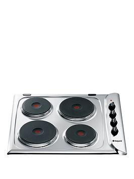 hotpoint-e604x-60cm-built-in-electric-hob-stainless-steel