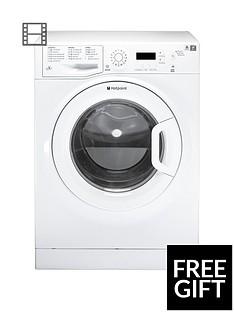 Hotpoint AquariusWMAQF721P 7kg Load, 1200 Spin Washing Machine - White