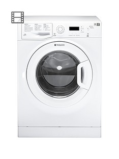Hotpoint Aquarius WMAQF721P 7kg Load, 1200 Spin Washing Machine - White
