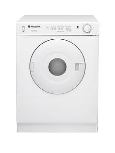 Hotpoint First EditionV4D01P 4kg Vented Tumble Dryer - White