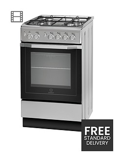 indesit-i5gg1s-50cm-single-oven-gas-cooker