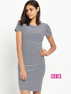 hilfiger-denim-stripe-shortnbspsleeve-jersey-midi-dress