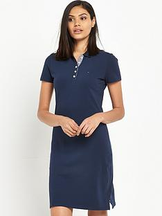 hilfiger-denim-short-sleeve-polo-dress