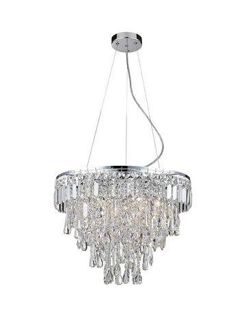 Silver Ceiling Lights Lighting Home Garden Www Very Co Uk