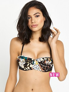 river-island-river-island-printed-mermaid-frill-balconette-bikini-top
