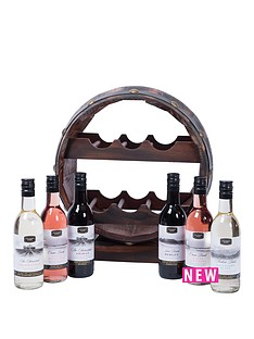 wooden-wine-barrel-with-6-x-187ml-wines