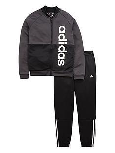 adidas-older-boys-linear-tracksuit