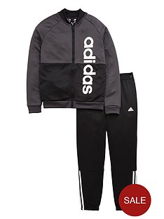adidas-older-boys-linear-tracksuit