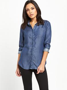superdry-diana-tencel-shirt-dark-wash