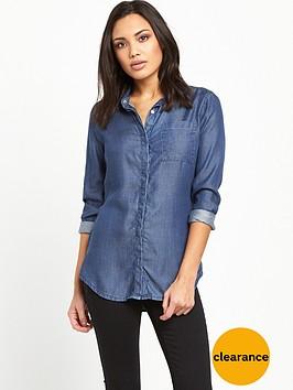 superdry-diana-tencel-shirt-dark-wash