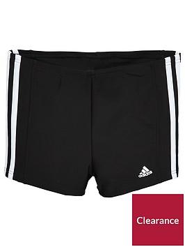 adidas-adidas-older-boys-nbsp3s-swim-trunks-black