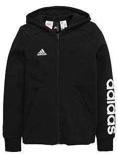 adidas-older-girls-linear-hoody