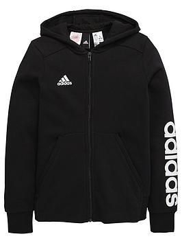 adidas-older-girls-linear-hoody