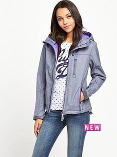 superdry-hooded-windtrekker-storm-marl-fluro-purple