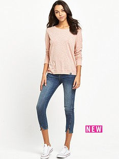 superdry-raw-edge-crew-top-festival-blush