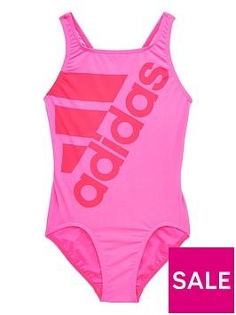 adidas-older-girls-logo-swim