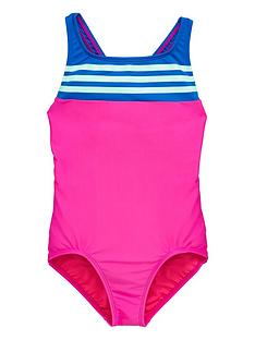 adidas-older-girls-3-stripe-swimsuit