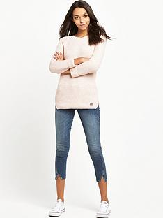 superdry-austin-cotton-rib-knit-top-peach-twist