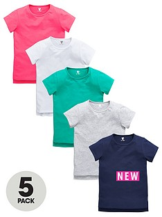 v-by-very-girls-t-shirts-5-pack