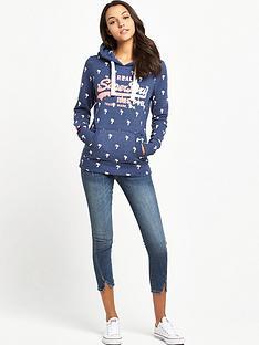 superdry-vintage-logo-ditsy-hoodie-princeton-blue-marl