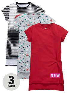 v-by-very-girls-longlinenbsptwist-knot-t-shirts-3-pack