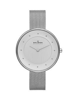 skagen-skagen-gitte-white-dial-silver-tone-mesh-bracelet-ladies-watch