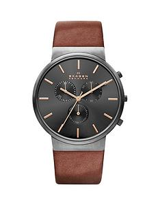 skagen-skagen-ancher-black-dial-chronograph-tan-leather-strap-mens-watch