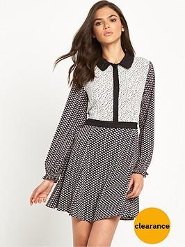glamorous-ditsy-floral-shirt-dress