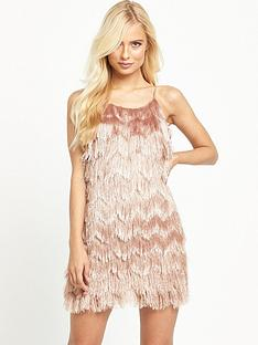glamorous-tiered-tassel-cami-dress-dusty-pink