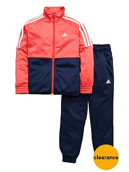 adidas-girls-poly-tracksuit