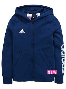 adidas-older-girls-linear-logo-fz-hoody