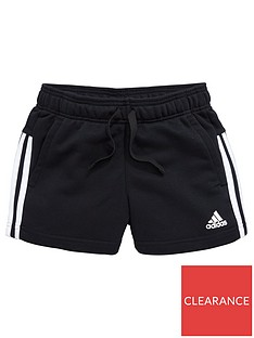 adidas-older-girls-3s-short