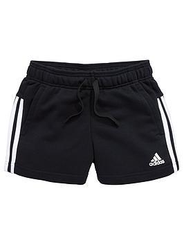 adidas-older-girls-3s-short