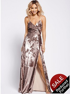 myleene-klass-wrap-sequin-maxi-dress-gold